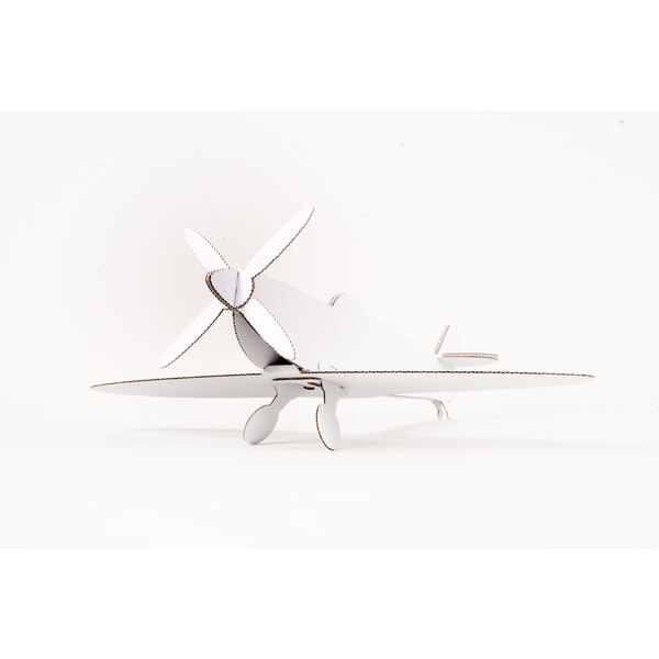 SPITFIRE PLANE - White