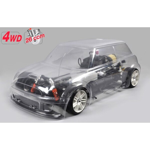 Chassis 4WD Trophy + carro.MINI