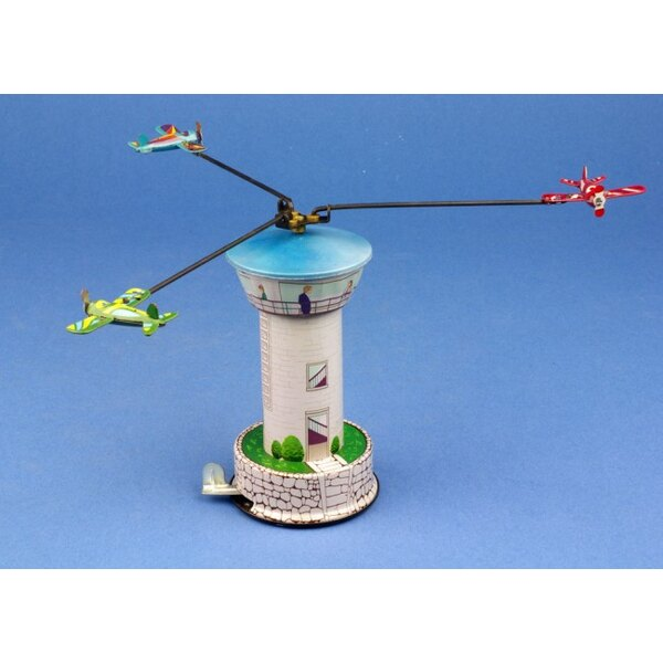 Carousel control tower toy train / Control Tower