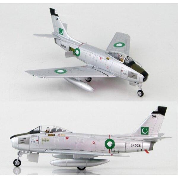 F-86F-40 Sabre Sqn Leader M.Mahmood Alam