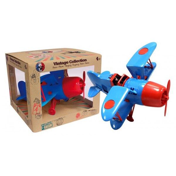 Biplane Blue / Red