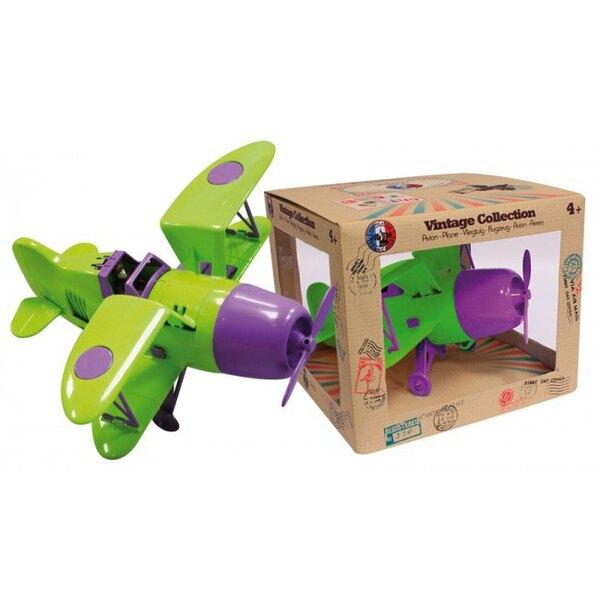 Biplane Green / Purple