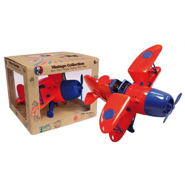 Biplane Red / Blue
