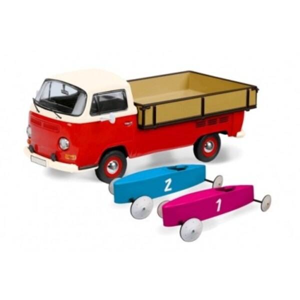 VW T2A PICK-UP WITH 2 BOXES SOAP