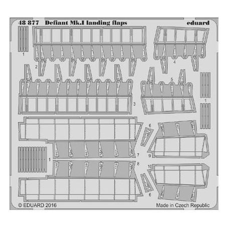 EDUARD 48877 Landing Flaps for Airfix® Kit Defiant Mk.I in 1:48