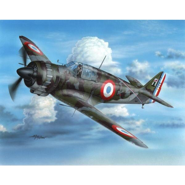 Bloch MB.152C-1 Early Version. The Bloch MB 152C.1 was one of four pivotal fighter aircraft types the Armée de L'Air (or French