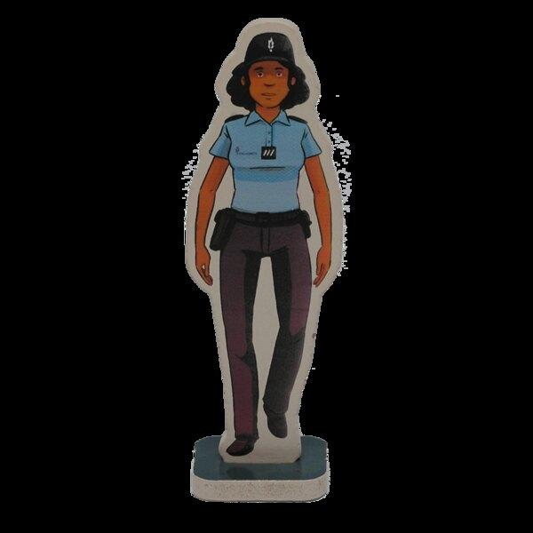Yasmine the police officer