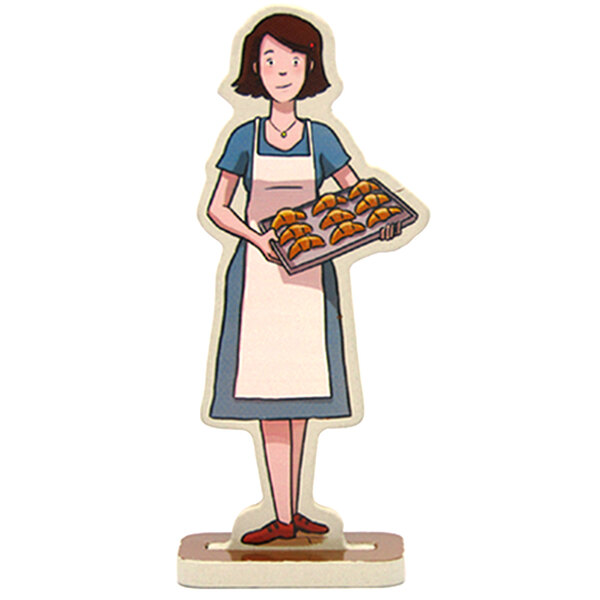 Madeleine the baker's wife