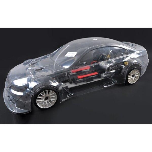 4wd RTR frame 530E + car.BMW M3