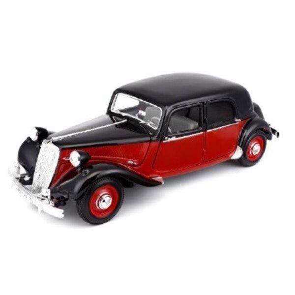 CITROEN 15CV 6 CYLINDER 1952 RED / BLACK