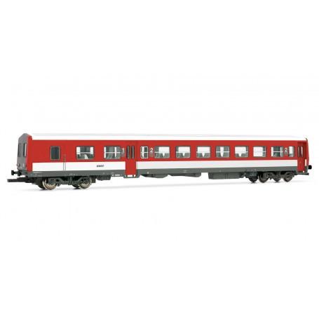 railcar trailer XR 6000, left red / white, framed initials