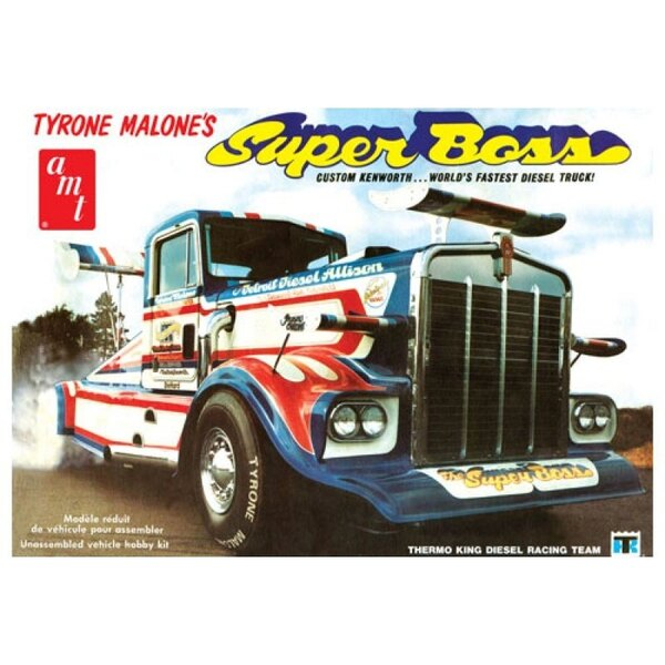 Tyrone Malone Kenworth Super Boss Drag Truck