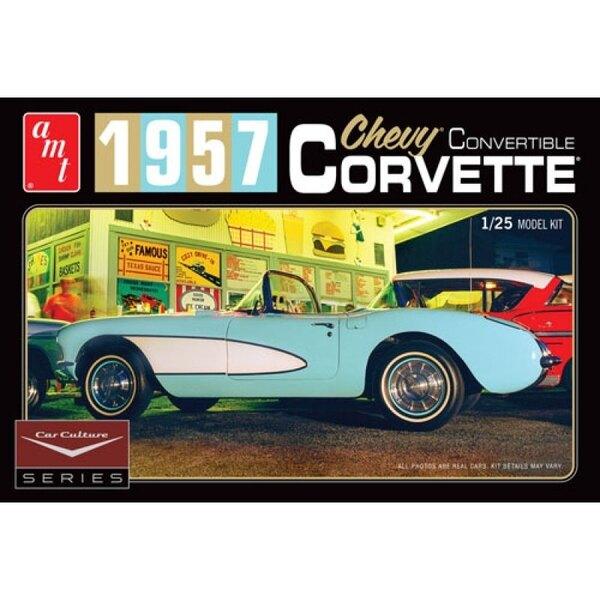 Cindy Lewis Car Culture - 1957 Chevy Corvette Convertible (Blue)