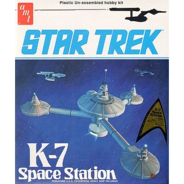 Star Trek K-7 Space Station. Available again for the first time in over 30 years!