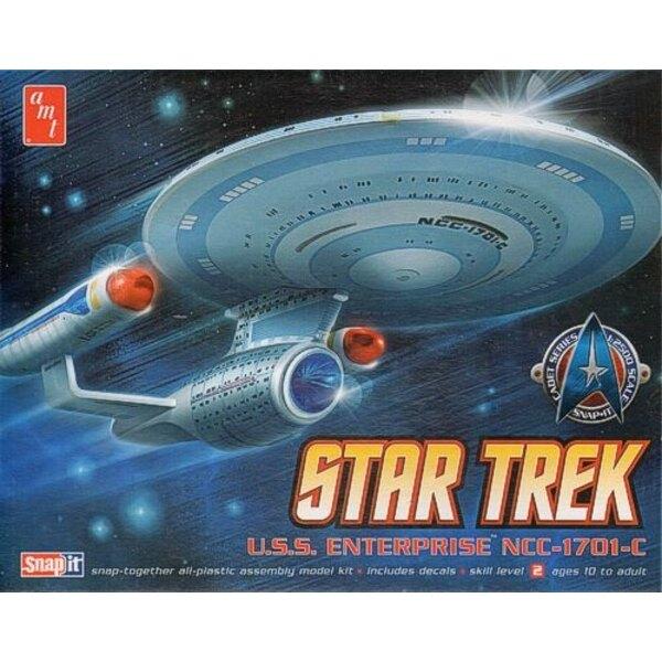 Star Trek U.S.S Enterprise NCC-1701-C Snap-together kit