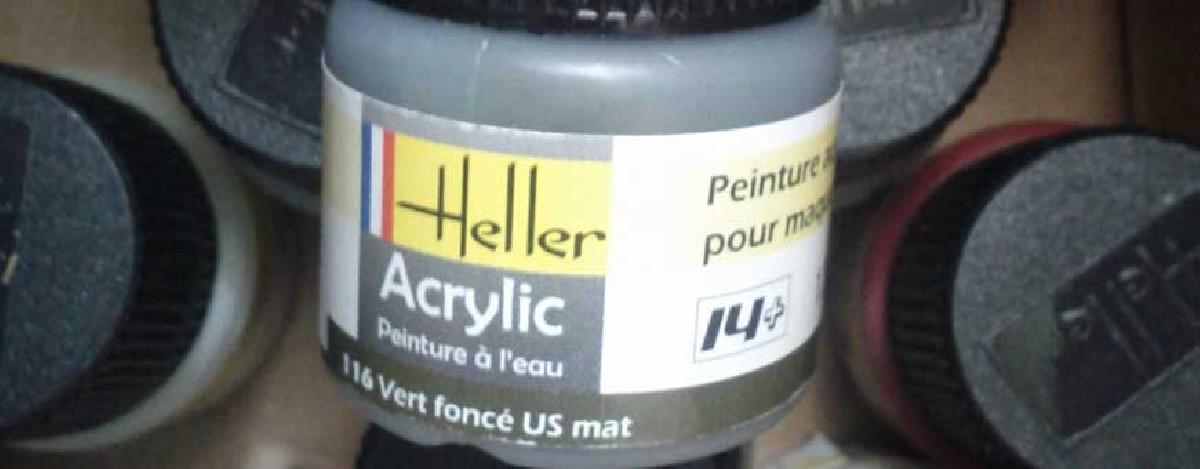 Heller acrylic paint