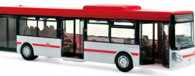 Die-cast buses
