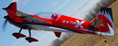 Nitro RC Airplane