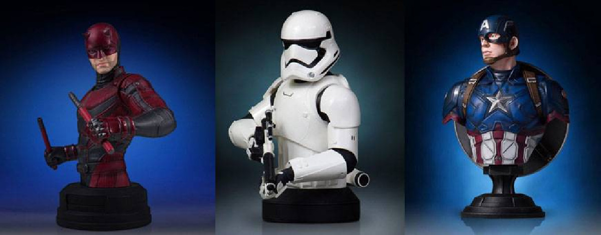Busts, busts - pop culture - All products of the category busts with 1001hobbies.com
